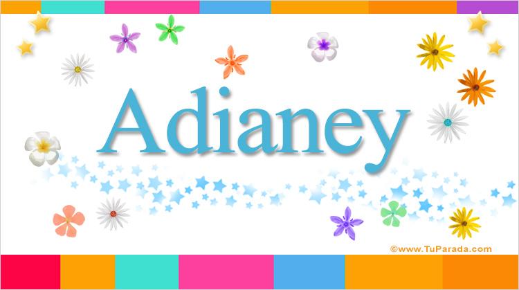 Adianey, imagen de Adianey