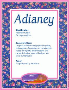 Nombre Adianey
