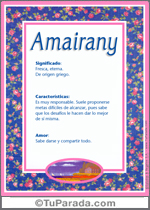 Nombre Amairany