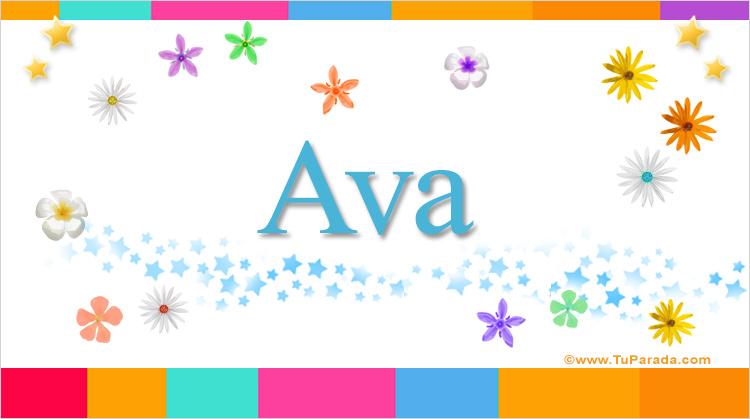 Ava, imagen de Ava