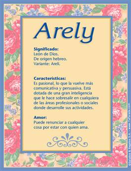 Nombre Arely