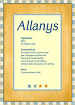Allanys