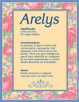 Nombre Arelys