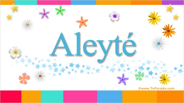 Aleyté, imagen de Aleyté