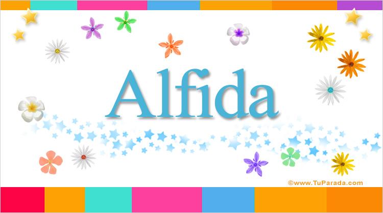Alfida, imagen de Alfida