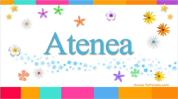 Atenea, imagen de Atenea