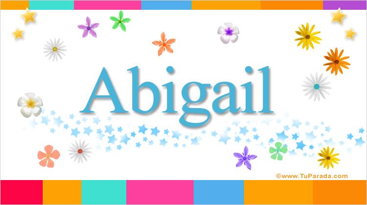 Abigail, imagen de Abigail