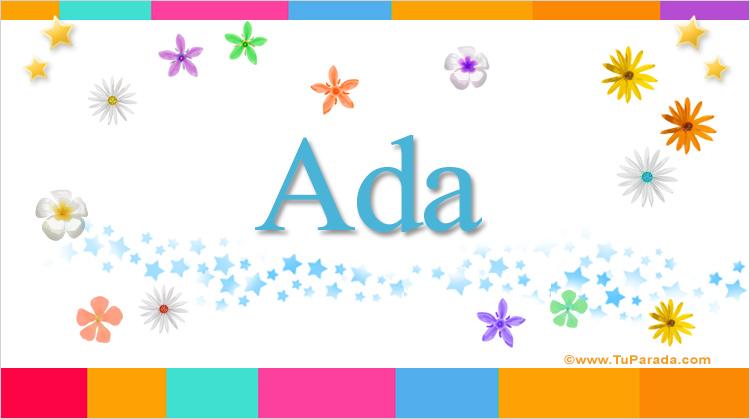 Ada, imagen de Ada