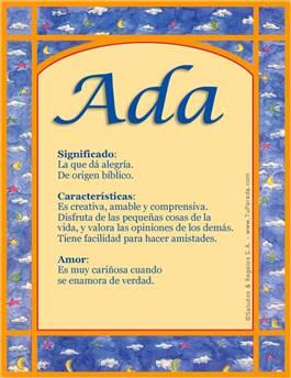 Nombre Ada