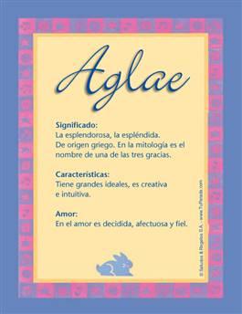 Nombre Aglae