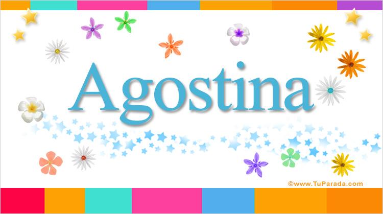 Agostina, imagen de Agostina