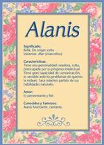 Nombre Alanis