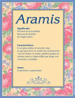 Nombre Aramis