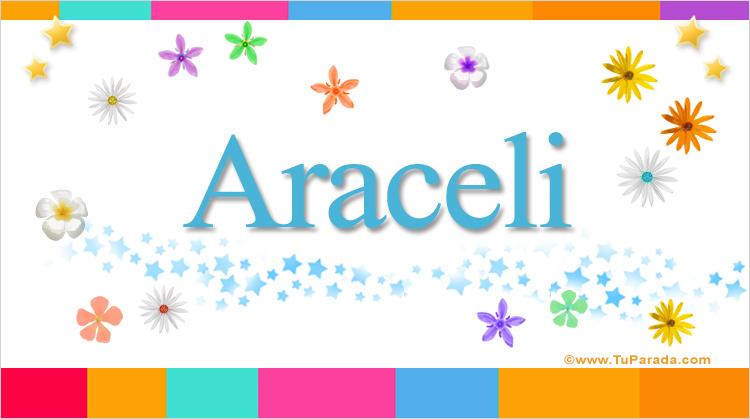Araceli, imagen de Araceli