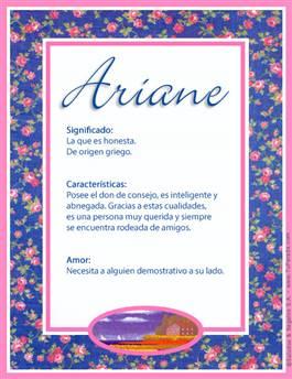 Nombre Ariane
