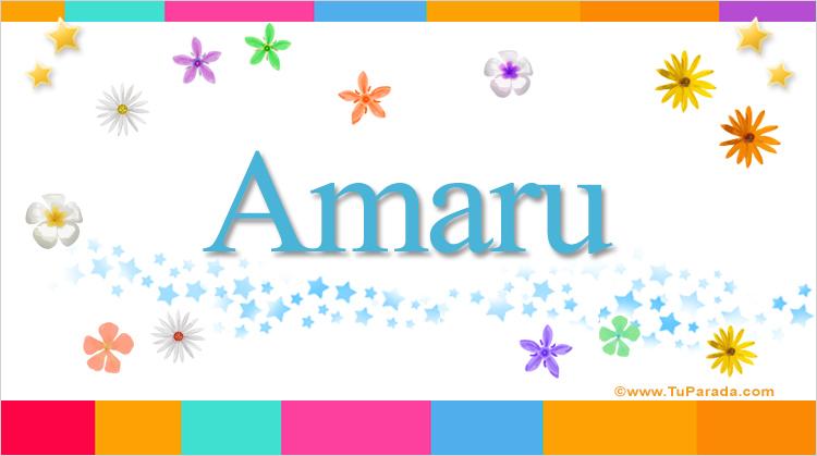 Amaru, imagen de Amaru