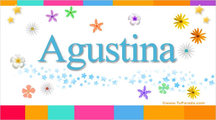 Agustina, imagen de Agustina