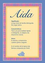 Nombre Aida