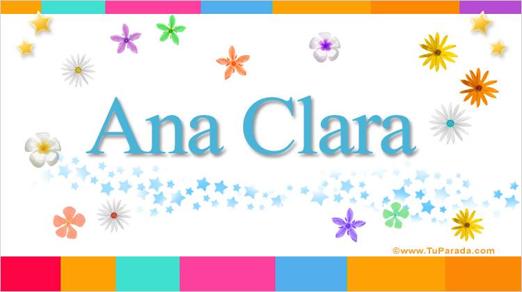 Ana Clara, imagen de Ana Clara