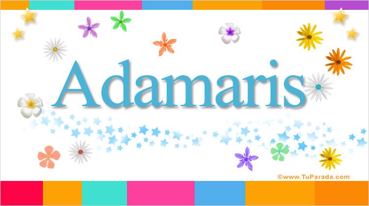 Adamaris, imagen de Adamaris