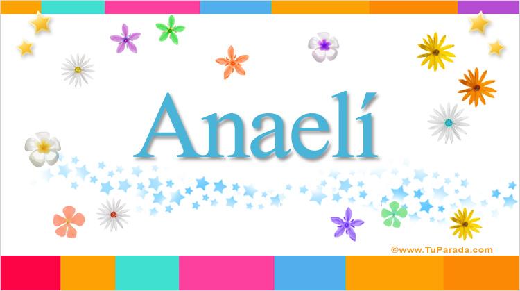 Anaelí, imagen de Anaelí