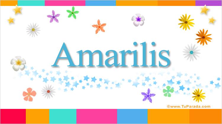 Amarilis, imagen de Amarilis
