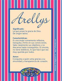 Nombre Arellys