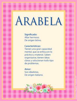 Nombre Arabela
