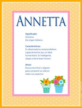 Nombre Annetta