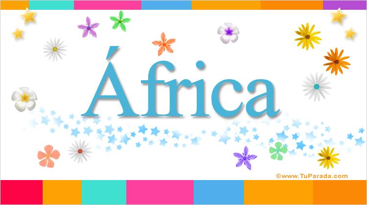 África, imagen de África