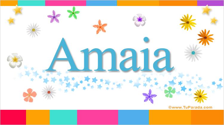 Amaia, imagen de Amaia