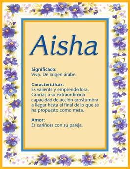 Nombre Aisha