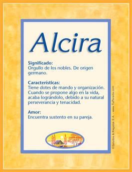 Nombre Alcira
