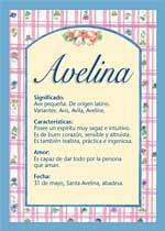 Nombre Avelina