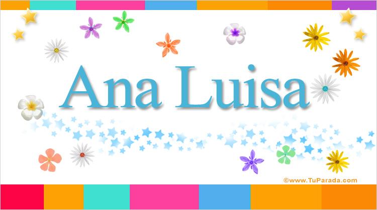 Ana Luisa, imagen de Ana Luisa