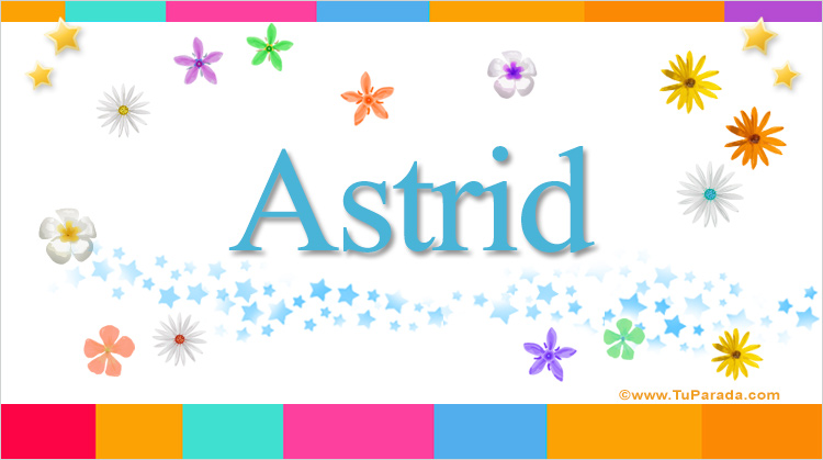 Astrid, imagen de Astrid