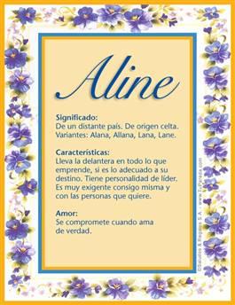 Nombre Aline