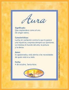 Nombre Aura