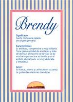 Nombre Brendy