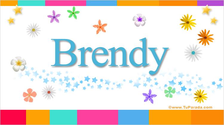 Brendy, imagen de Brendy