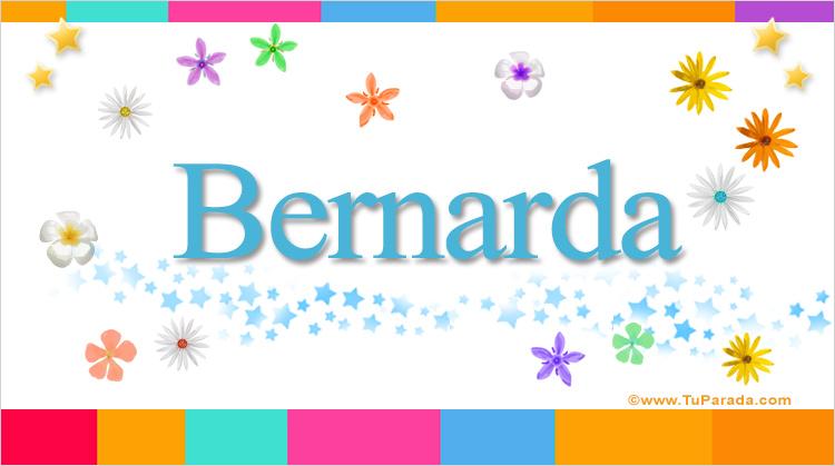 Bernarda, imagen de Bernarda