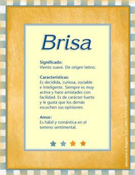 Nombre Brisa
