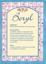 Nombre Beryl