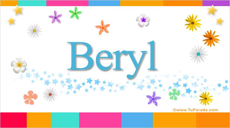 Beryl, imagen de Beryl
