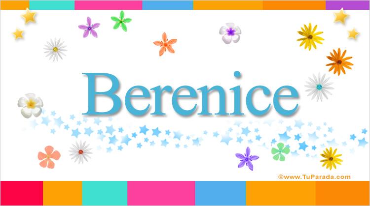 Berenice, imagen de Berenice