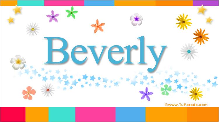 Beverly, imagen de Beverly