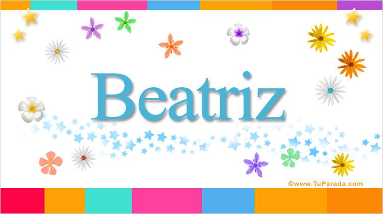 Beatriz, imagen de Beatriz