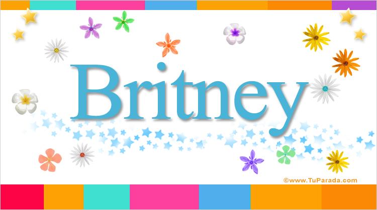Britney, imagen de Britney