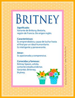 Nombre Britney