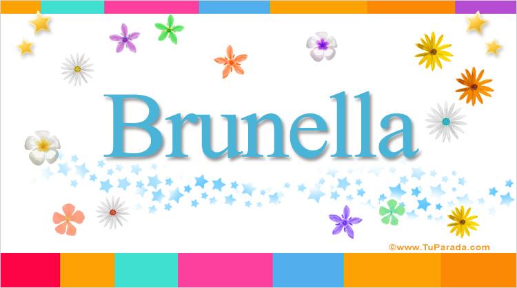 Brunella, imagen de Brunella